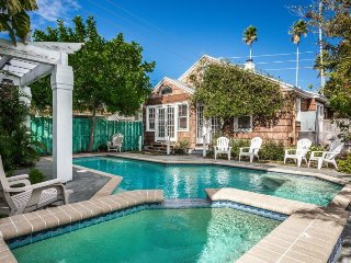 Historical Pass-a-Grille Cottage | Rustic cottage with private pool, steps from - Saint Pete Beach vacation rentals