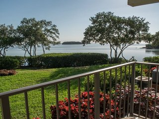 Holiday Island #F63 | Waterfront condo with shared pool and dock - Tierra Verde vacation rentals