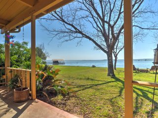 New! 3 BR Lakefront Burnet House w/ Pontoon Boat! - Burnet vacation rentals