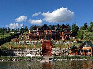 Amazing Log Home On Beautiful Lake - Lac La Hache vacation rentals