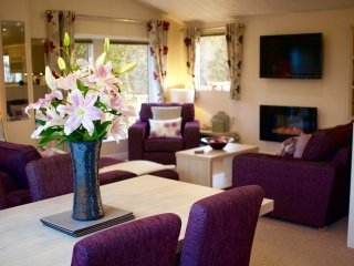 Luxurious Lavender Lodge with Hot Tub - Eshott vacation rentals