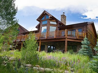 Stunning 5 Bedroom Custom Log Home steps away from Frisco`s Reserve! - Dillon vacation rentals