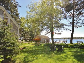 Enchanting, quintessential waterfront summer house-beach and wharf. - Spruce Head vacation rentals