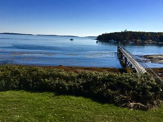 Gorgeous waterfront house with dock and stunning views - Spruce Head vacation rentals