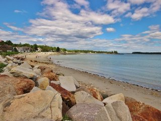 Sitting on Crescent Beach, a traditional, comfortable summer house. - Rockland vacation rentals