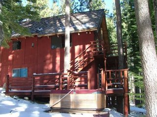 V45-Great Cabin, Secluded in a quiet setting & completely surrounded by - South Lake Tahoe vacation rentals