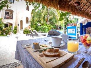 Playa del Carmen Hotel Room at the BRIC Hotel - 2 Double Beds - Riviera Maya vacation rentals