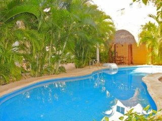 Directly off of the pool and steps to the Beach and 5th Avenue - Riviera Maya vacation rentals