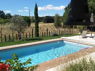 Le Citronnier, Near Uzes, Sleeps 8, Heated Pool,Beautiful country views - Vallabrix vacation rentals