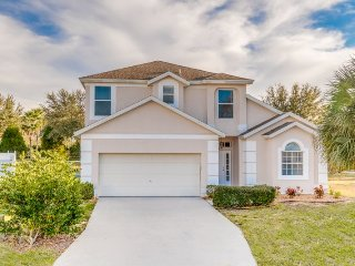 Enjoy this newly refurbished 5 Bedroom Orlando Villa Near Disney with a private - Davenport vacation rentals