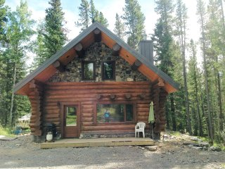 Cabin1 - Log Cabin in the Rocky Mountains - Nordegg vacation rentals