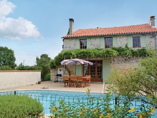 3 bedroom Villa in St.Simon de Pellouaill, Charente Maritime, France : ref - Saint Simon de Pellouaille vacation rentals