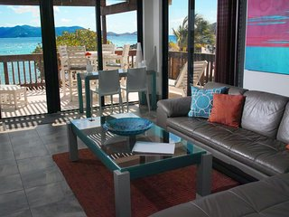 Glass House on the Sea - Private Corner End Suite -Sapphire Beach St. Thomas, VI - Red Hook vacation rentals