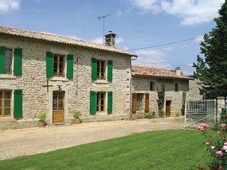 4 bedroom Villa in Souvigne, Deux-sevres, France : ref 2220866 - Souvigne vacation rentals