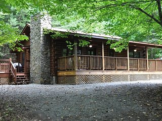 Shady Grove - Secluded Mountain Cabin with Hot Tub and Fire Pit - Less than 15 - Whittier vacation rentals