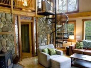 Laurel Branch - Secluded Cabin on a Hillside - Fire Pit, Hot Tub, and Foosball - Bryson City vacation rentals