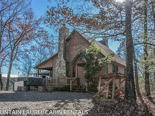 MOUNTAIN RIVERS LODGE- 4BR/4BA CABIN WITH A MOUNTAIN VIEW AND WITHIN WALKING - Blue Ridge vacation rentals
