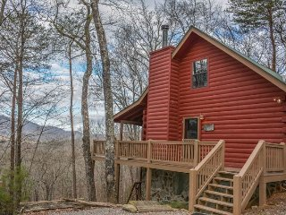 A BIRDS EYE VIEW- 2BR/2BA- CABIN SLEEPS 6, BEAUTIFUL MOUNTAIN VIEW OF THE - Cherry Log vacation rentals