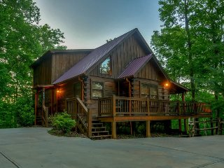 MOON SHADOW OVERLOOK-3BR/3BA-LUXURY CABIN SLEEPS 6, WIFI, HOT TUB, GAS GRILL - Blue Ridge vacation rentals