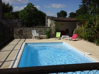 old farmhouse with private swimming pool in large enclosed grounds . - Matha vacation rentals