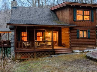 Cozy Cabin in the Woods on a Mountain Creek, Centrally-located close to - Seven Devils vacation rentals