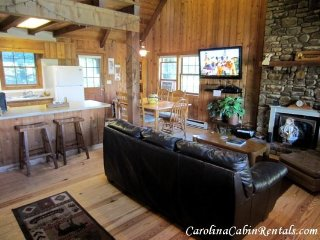 3BR Mountain Cabin with Game Room, Flat Screen TV, Stone Wood Burning - Blowing Rock vacation rentals