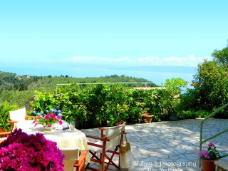 Charming Cottage with Balcony and Water Views - Koutsi vacation rentals