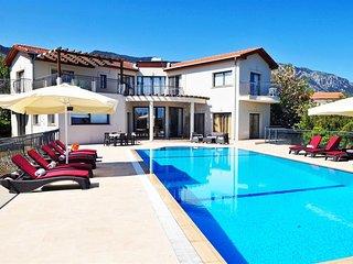 Villa Amelia sleeps 10 people with 5 bedrooms and 5 bathrooms - Alsancak - Karavas vacation rentals
