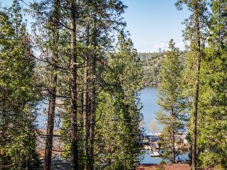 Regal house w/ lake views, entertainment, shared pool - near Yosemite - Groveland vacation rentals