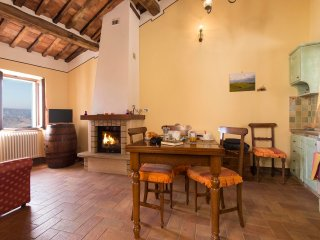 Casa Bandino - Large panoramic 1bdr in Val d'Orcia - Campiglia d'Orcia vacation rentals