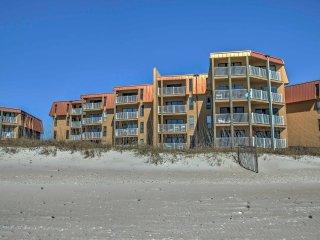 NEW! 2BR North Topsail Beach Condo w/Ocean Views - North Topsail Beach vacation rentals