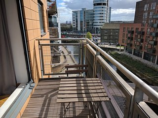 Sunny Balcony Overlooking River - Leeds vacation rentals