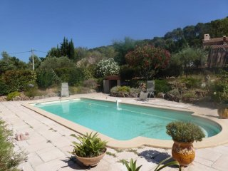 Bright studio with pool & garden - Pierrefeu-du-Var vacation rentals