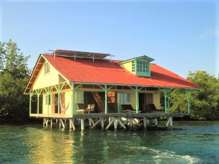 DISCOUNTS FOR MARCH THROUGH MAY!  UNBELIEVABLE HOUSE OVER THE WATER! - Isla Colon vacation rentals