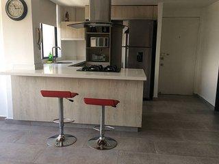El Poblado, Modern Apt, Excellent View, Cozy. - Medellin vacation rentals