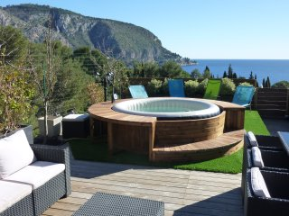 Eze mer 4 BD rooftop terrace sea & mountain views - Eze vacation rentals