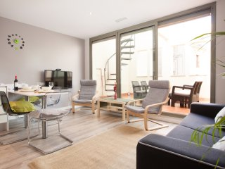 Paseo de Gracia Modern 4 pax. apartment with private terrace! - Barcelona vacation rentals