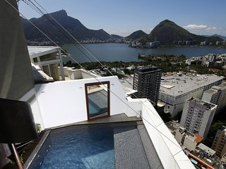 Rio004-Breathtaking penthouse in Leblon with pool and 3 suites - Ipanema vacation rentals