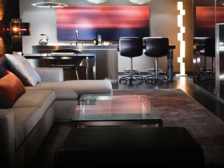 Designer Corner Suite 31floor 1200 sqf with 2 walkable BALCONY Amazing VIEW - Las Vegas vacation rentals