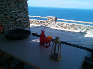 Andros Island Amazing Sea View LODGE + Pool Sleeps 4 - Andros Town vacation rentals