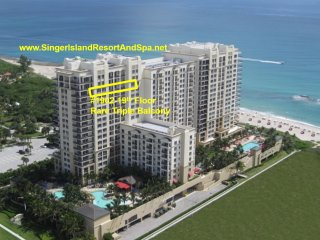 Condo-MarriottSingerIslandResortSpa-19thFl-RareTripleBalcony&DiningTable-WiFI TV - Singer Island vacation rentals