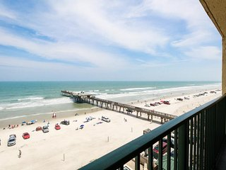 Bright and airy oceanfront condo w/ shared pool, hot tub, and private balcony - Daytona Beach vacation rentals