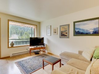 Cozy condo w/stunning mountain views! Near the ski lifts + access shared pool! - Ketchum vacation rentals