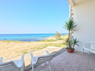 Appartamento Patrizia sul mare 1 camera 4 pax Marina di Mancaversa - Marina di Mancaversa vacation rentals