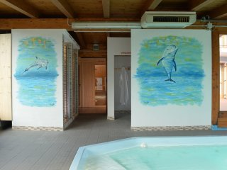 Comfortable Condo with Shared Outdoor Pool and Television - Caldes vacation rentals