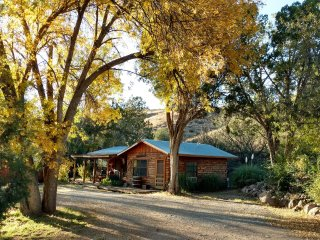 Lovely, large, 1-bedroom, fully furnished, southwestern territorial style cabin. - Gila vacation rentals
