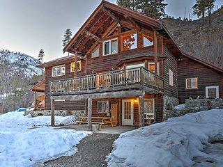 NEW! 5BR Leavenworth Area Lodge w/ Mtn Views! - Peshastin vacation rentals
