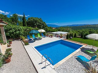4 bedroom Villa in Novi Vinodolski, Kvarner, Croatia : ref 2299212 - Bribir vacation rentals