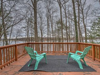 NEW! 4BR Lakefront Hawley House w/ Private Dock! - Hawley vacation rentals