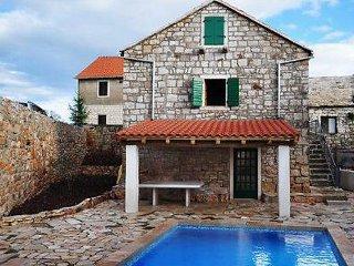 3 bedroom Villa in Brac Gornji Humac, Central Dalmatia Islands, Croatia : ref - Gornji Humac vacation rentals